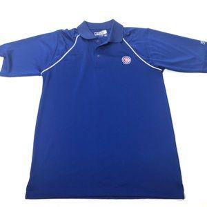 Men's Size Medium Chicago Cubs Polo Shirt